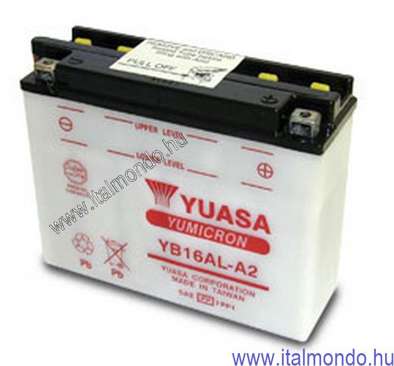 akkumulátor YB16AL-A2 YUASA