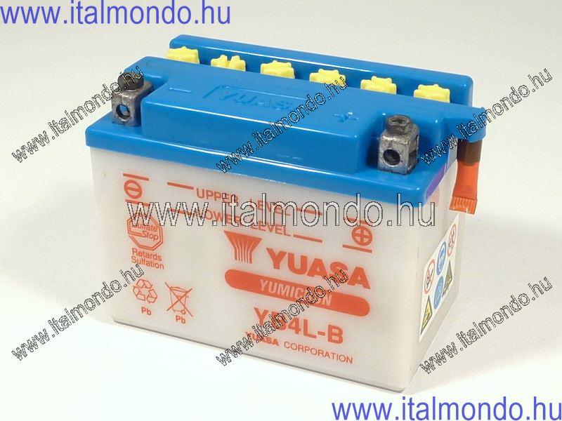 akkumulátor YB4L-B robogóhoz savas tipus YUASA