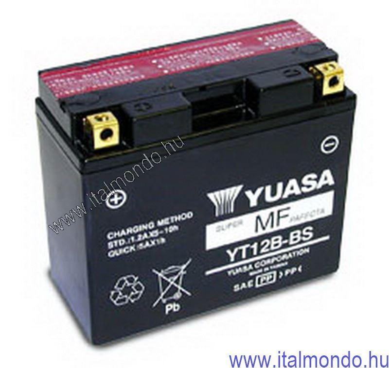 akkumulátor YT12B-BS YUASA