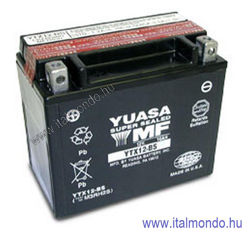 akkumulátor YTX12-BS YUASA