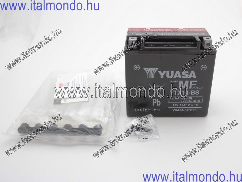 akkumulátor YTX14-BS 12V/12AH SIGILLATA YUASA