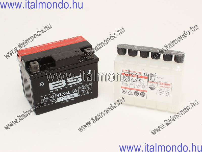akkumulátor YTX4L-BS BS