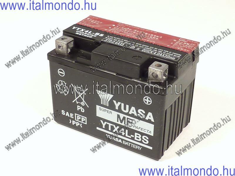 akkumulátor YTX4L-BS YUASA