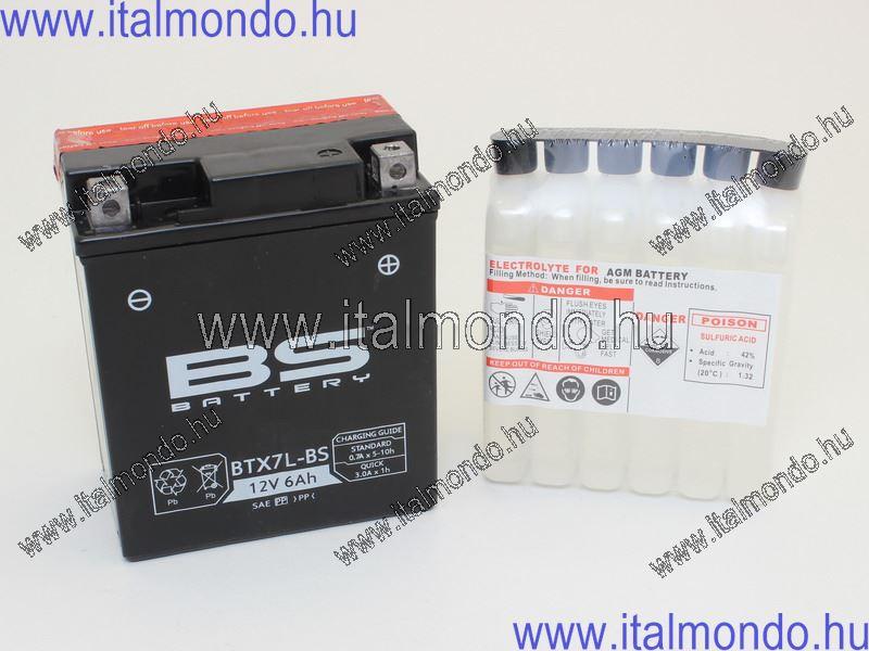 akkumulátor YTX7L-BS RMS