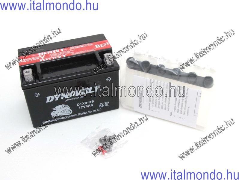 akkumulátor YTX9-BS DYNAVOLT