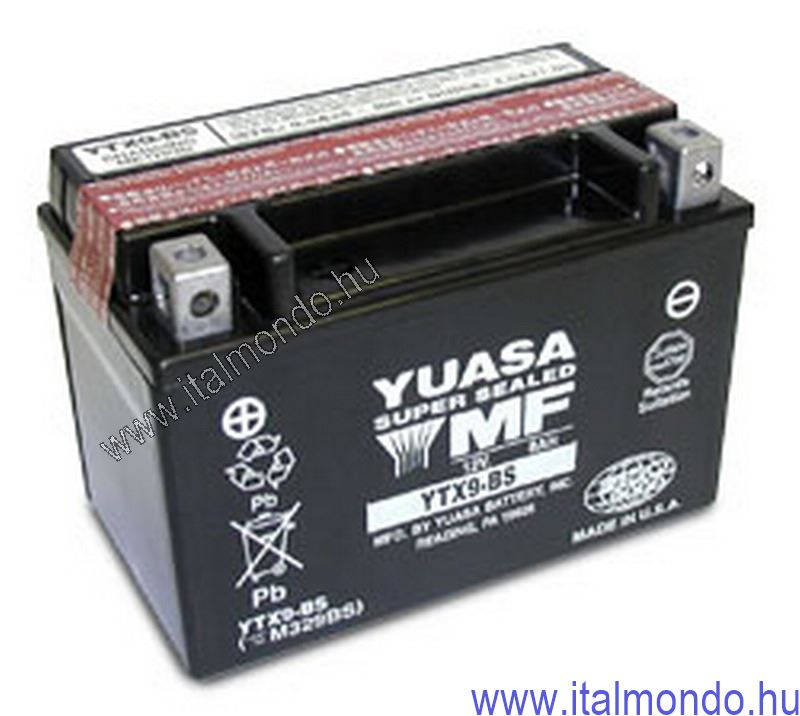 akkumulátor YTX9-BS YUASA