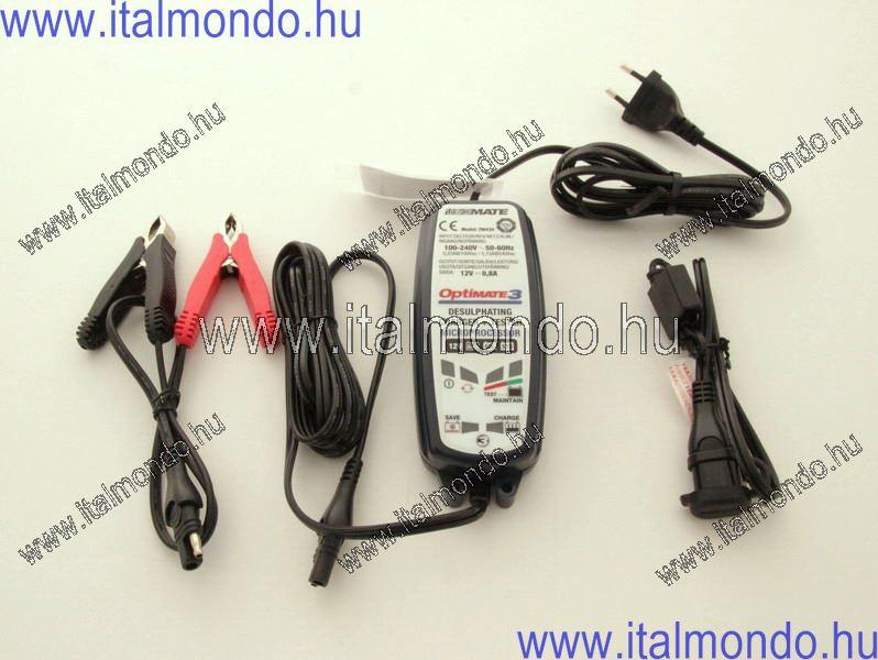 akkumulátortöltő OPTIMATE 3+ 12V/0,6A IT