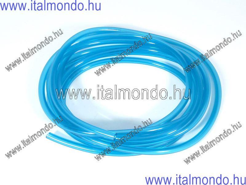benzincső 3x5 kék átlátszó CIF