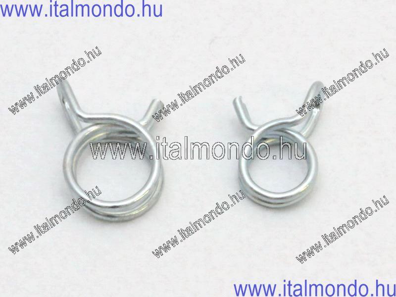 bilincs rugós benzincsőhöz D=8 mm