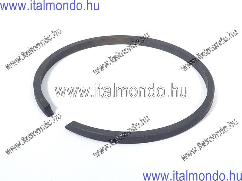 dugattyúgyűrű 46x1,5 oldaltstiftes fekete