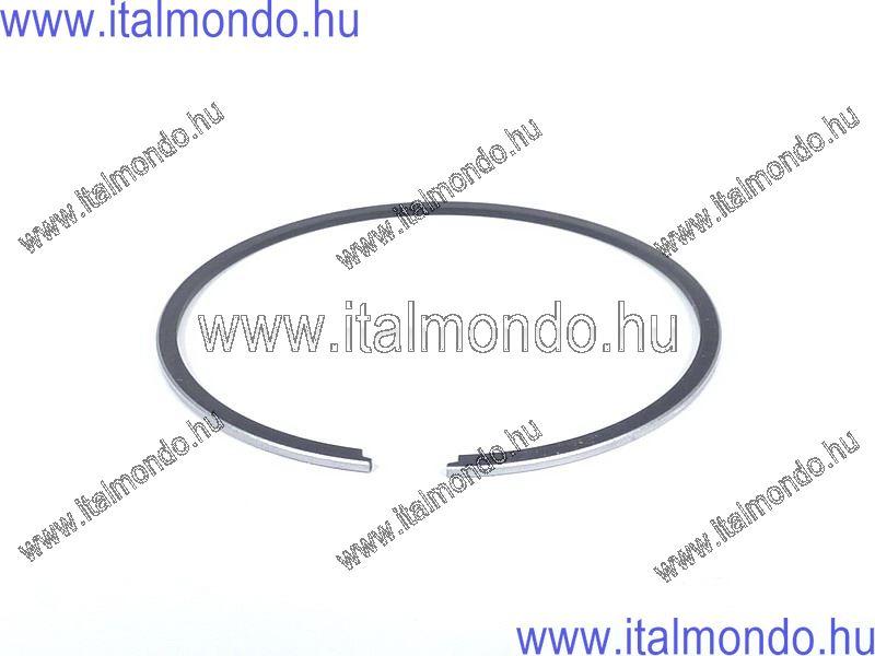 dugattyúgyűrű 47,6x0,9 belsőstiftes féltrapéz króm MALOSSI