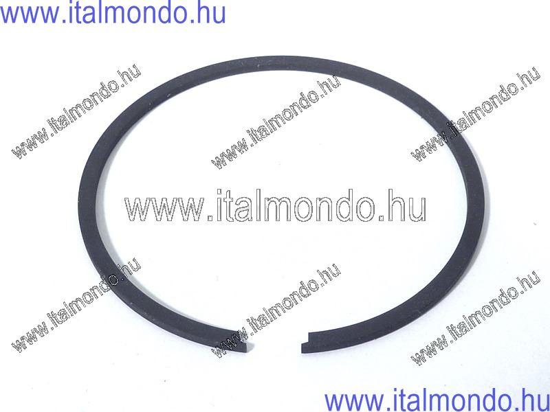 dugattyúgyűrű 47,8x1,5 belsőstiftes fekete