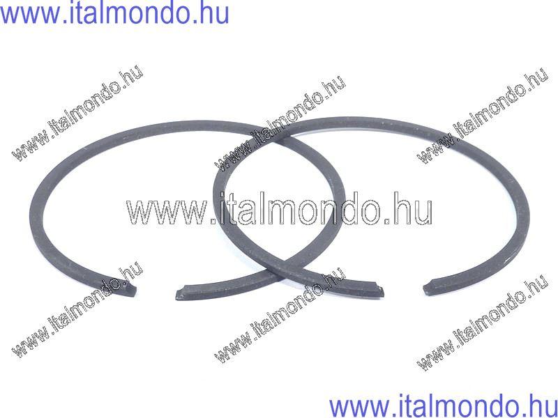 dugattyúgyűrű 47,8x1,5 oldaltstiftes fekete DR