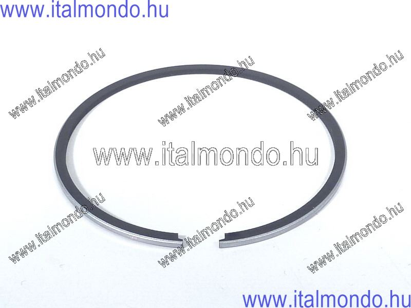 dugattyúgyűrű 55,6x1,2 belsőstiftes króm METEOR