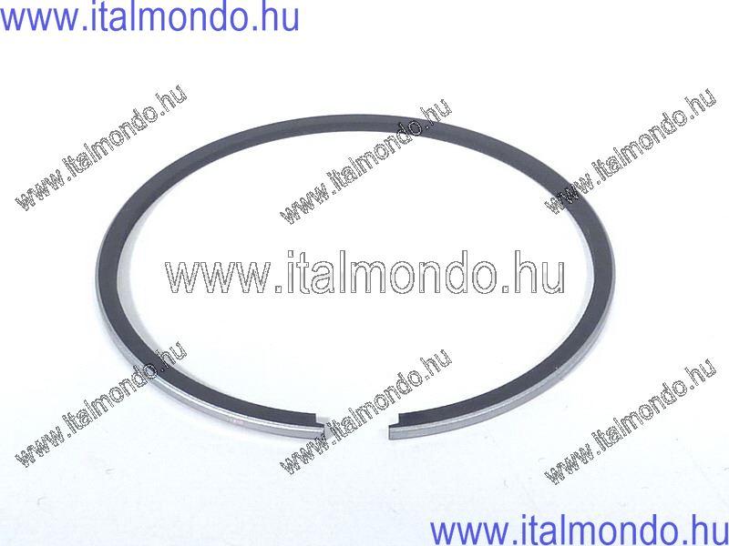 dugattyúgyűrű 55,8x1,2 belsőstiftes króm METEOR