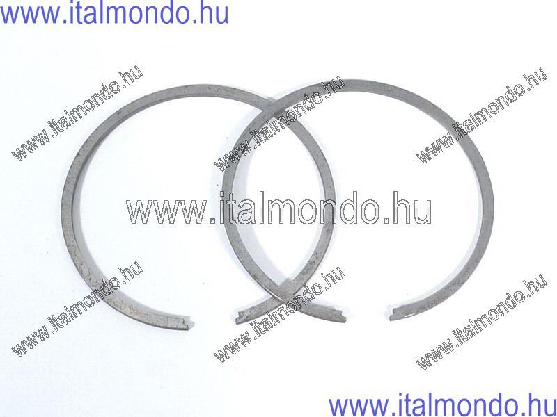dugattyúgyűrű 55,8x1,5 belsőstiftes fekete APE-VES DR