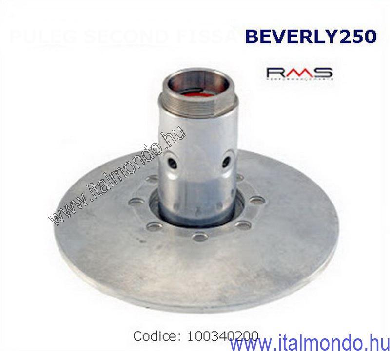 ékszíjtárcsa hátsó fix BEVERLY-X7-X8-X9-ATL. 250 RMS