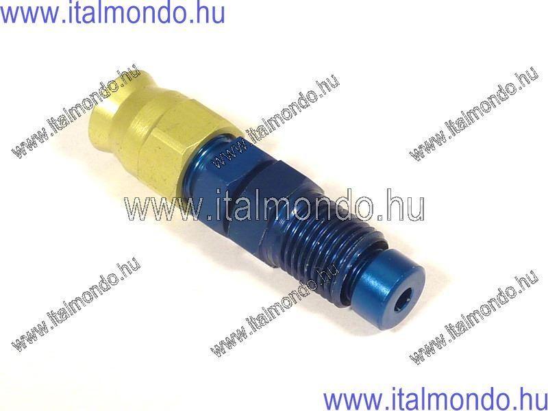 fékcsővég 10x1 egyenes lapos külső m. kék alu ALLEGRI CESARE