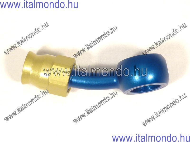 fékcsővég szemes 25° kék alu ALLEGRI CESARE