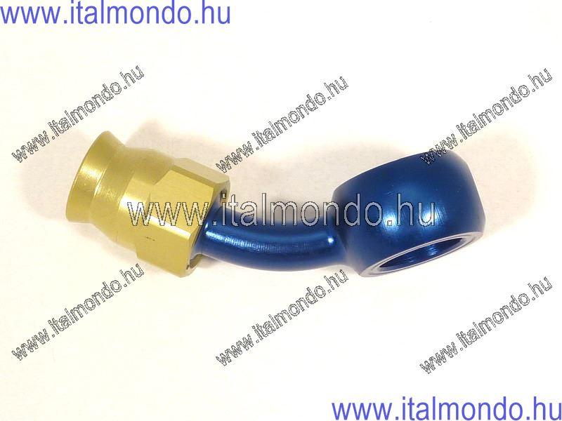 fékcsővég szemes 45° kék alu ALLEGRI CESARE
