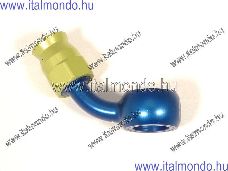 fékcsővég szemes 60° kék alu ALLEGRI CESARE