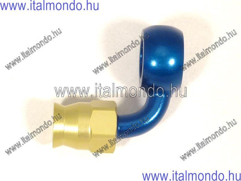 fékcsővég szemes 90° kék alu ALLEGRI CESARE