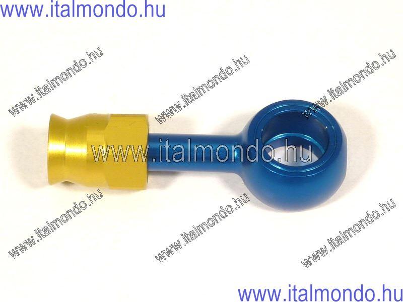 fékcsővég szemes egyenes kék alu ALLEGRI CESARE
