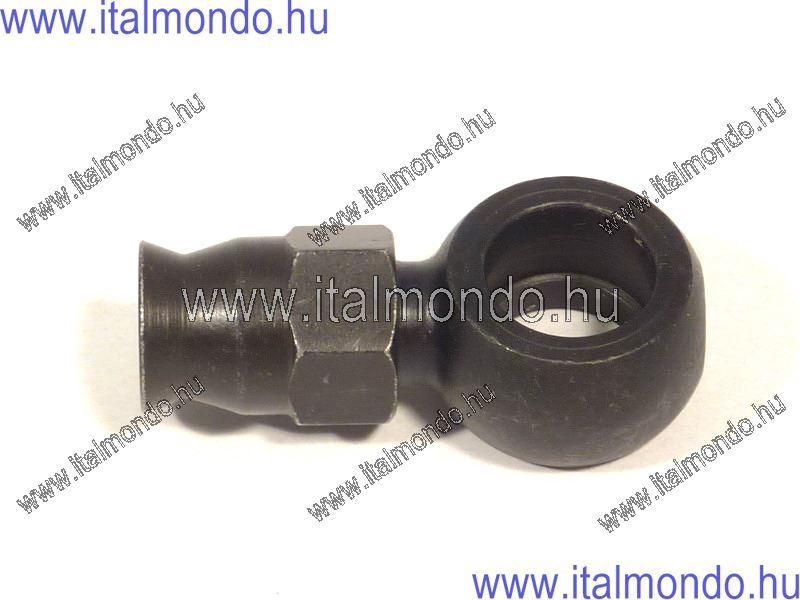 fékcsővég szemes egyenes rövid fekete ALLEGRI CESARE