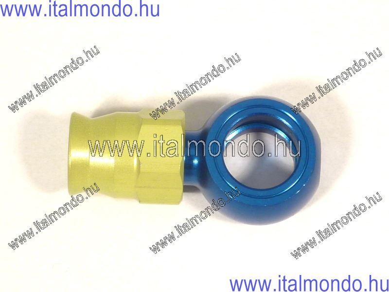 fékcsővég szemes egyenes rövid kék alu ALLEGRI CESARE