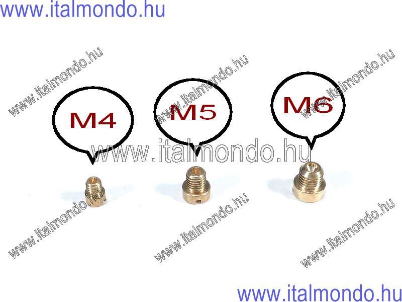 főfúvóka M 5-44 Dell'Orto porlasztóhoz