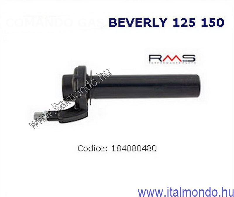 gázmarkolat BEVERLY 125-150-GTS-X9 RMS
