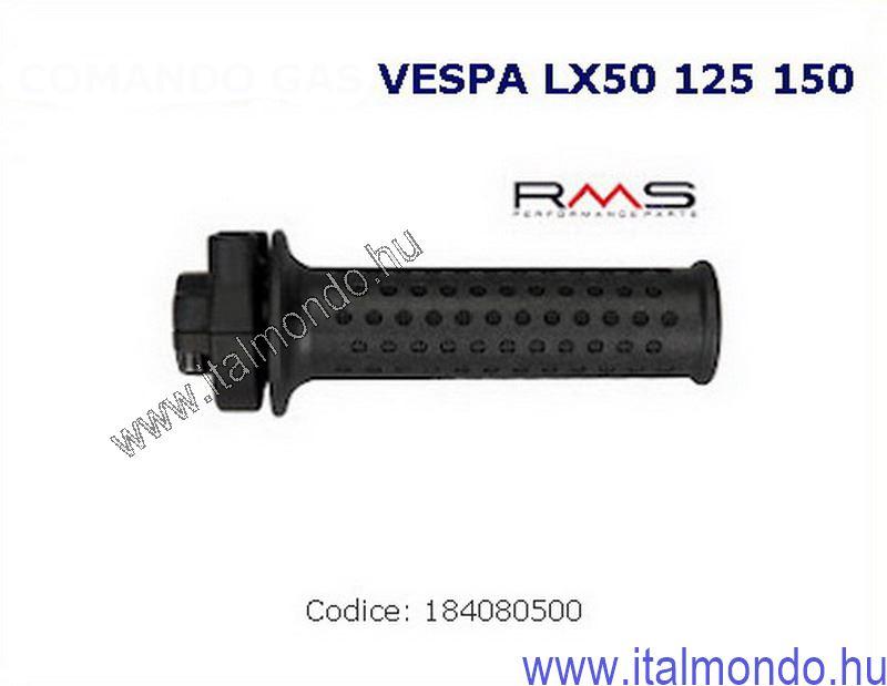 gázmarkolat VESPA LX 50-125-150 RMS