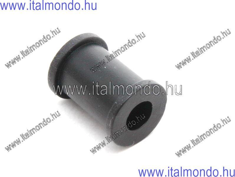 gumibetét  fékcső felfogatáshoz hornyos 7x12x21 HO ALLEGRI CESARE