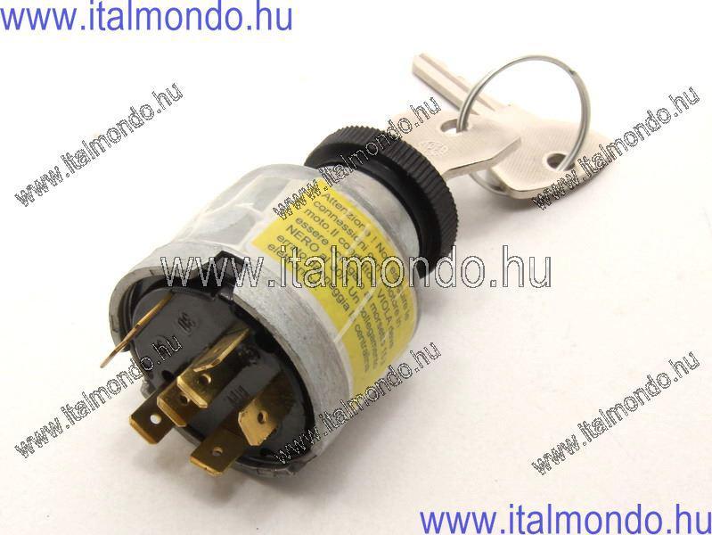 gyújtáskapcsoló APE CAR-TM-TMP 501-601-602-703 PIAGGIO-GILERA-VESPA