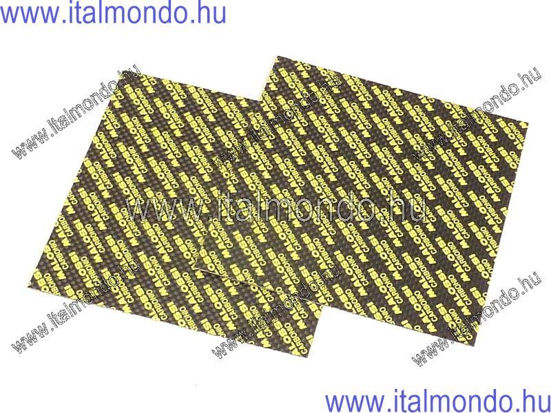 karbonlap 0,40mm 100X100 mm-es 2db MALOSSI