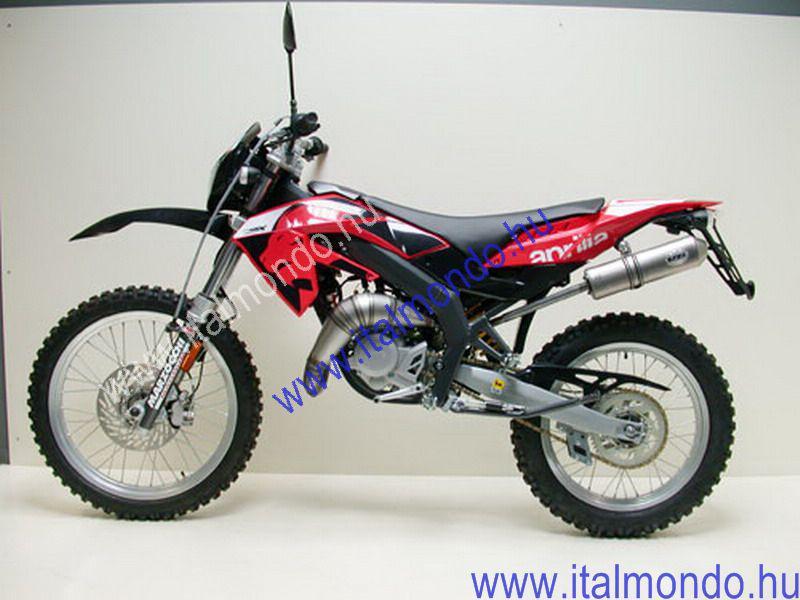 kipufogó HM V6 RX 50 2006-2007 LEO VINCE