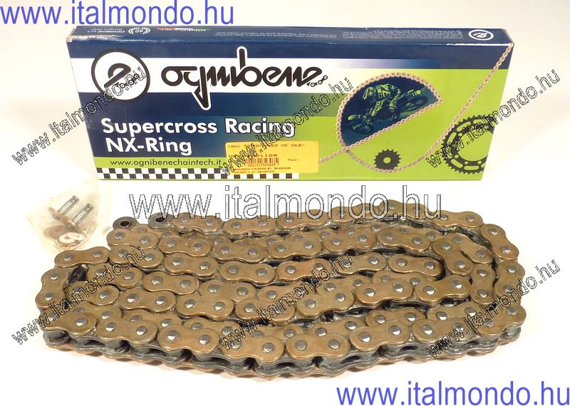 lánc 520NX1-120 OE G&B 125-250cc Supercross OE