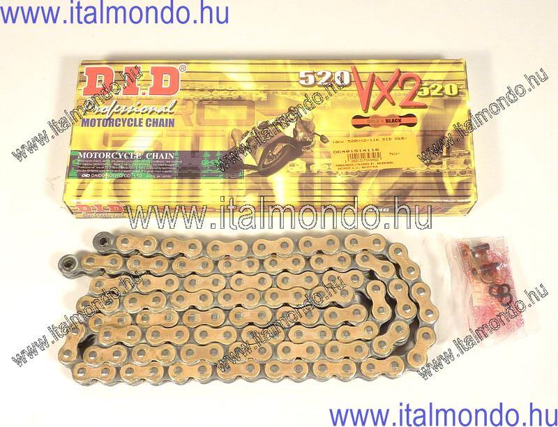lánc 520VX2-116 DID G&B 660cc enduro-Motard D.I.D.