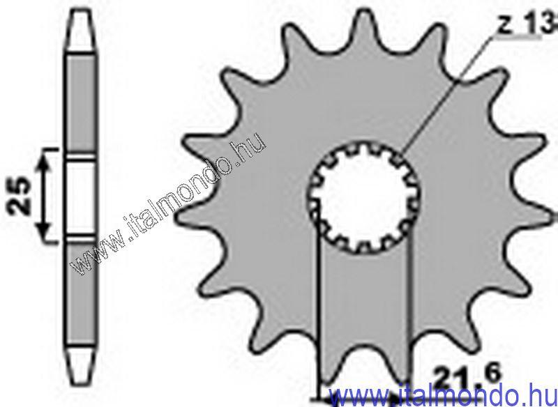 lánckerék első SUZUKI RM-DR 250-350-DRZ 400-BETA P.B.R.