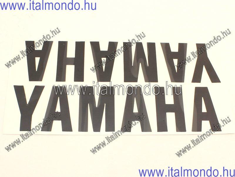 öntapadó YAMAHA fekete 80x350 mm