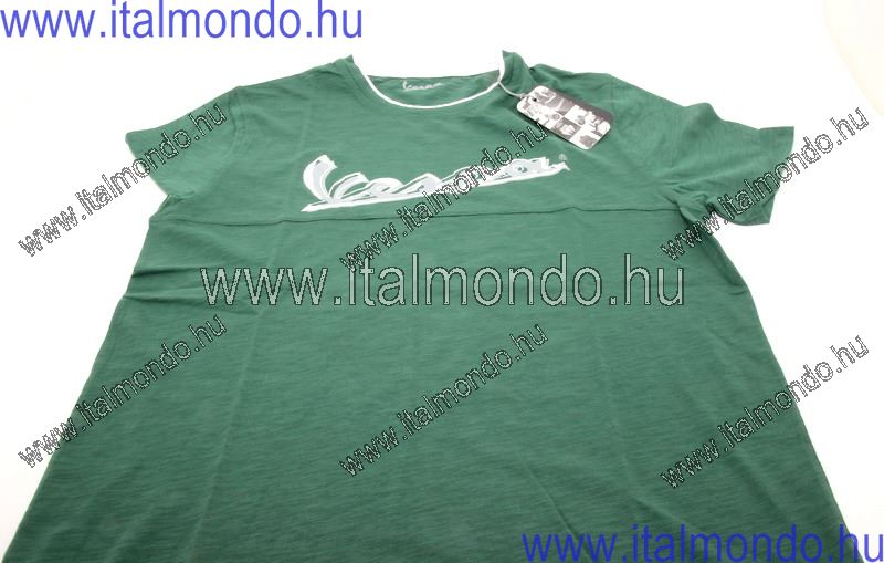 "póló férfi VESPA zöld ""XL"" VESPA"