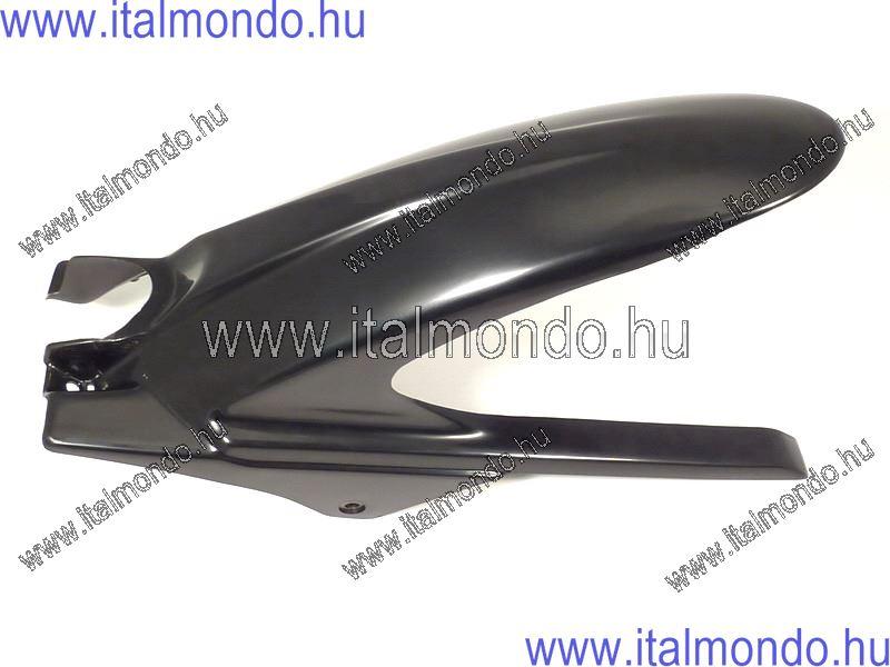 sárvédő hátsó kerékre RS 50-TUONO 50 fényes fekete APRILIA