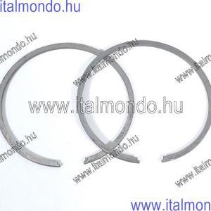 dugattyúgyűrű 55x1,5 belsőstiftes fekete APE-VESPA DR