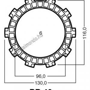kuplunglamella ROTAX 125 (csak kopó) ADIGE