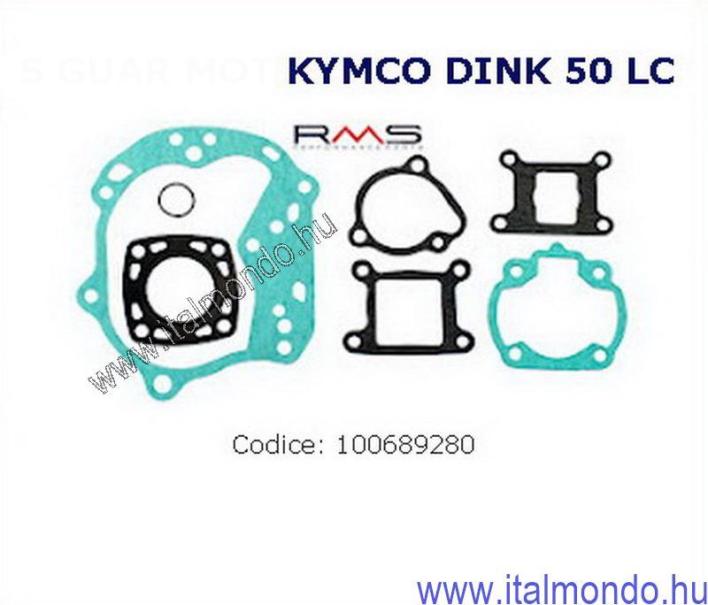 tömítésgarnitúra KYMCO DINK 50 vizes RMS