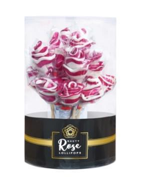NAUTY Rózsa nyalóka 50g hengerben