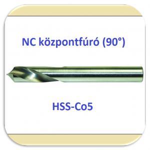 21809 NC központfúró 90° (HSSE)