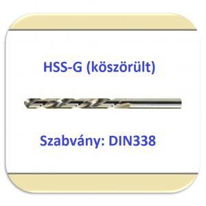 33381 HSS-G (köszörült fényes)