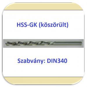 33402 HSS-G (köszörült fényes)