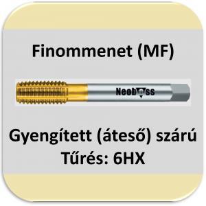 6060/80 ( MF) Finom menet HSSE TIN 6HX